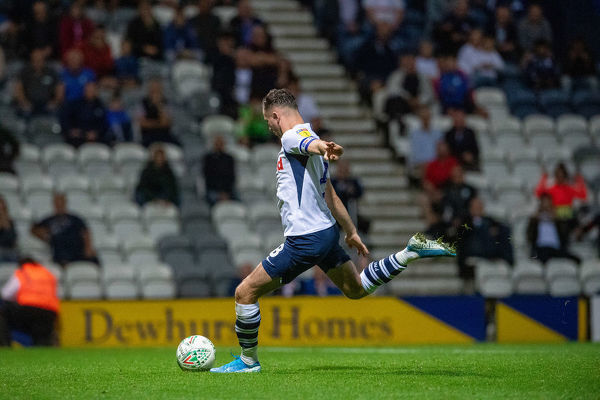 Preston North End Football Club     Preston North End v Hull City Carabao Cup match at Deepdale