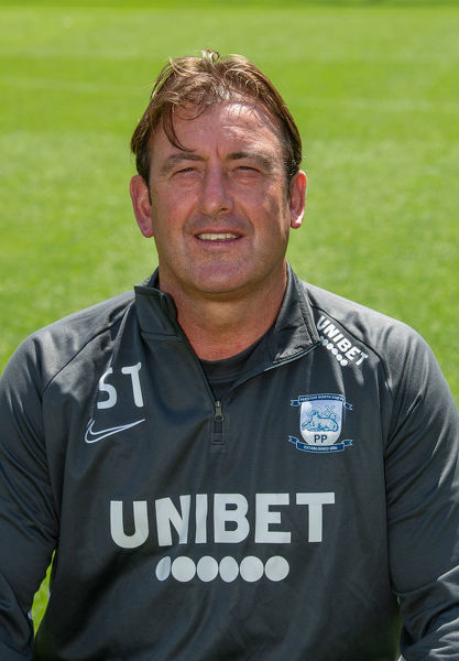 PNE Steve Thompson. Preston North End Football Club    Steve Thompson first team coach