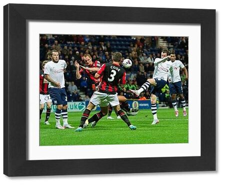 Preston North End 2015/16 Season: PNE v Bournemouth, Tuesday 22nd September 2015, Capital One Cup Third Round
