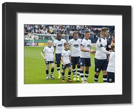 Preston North End 2016/17 Mascots: Fulham, Saturday 13th August