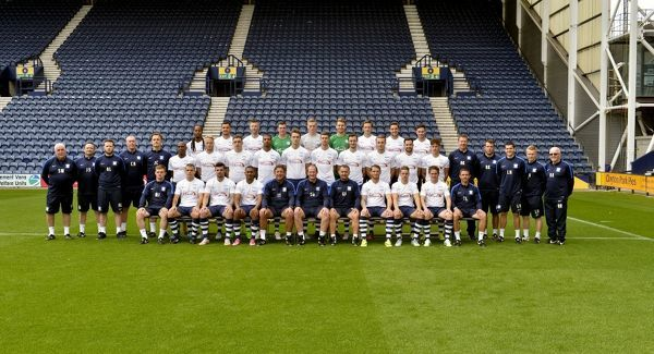 Preston North End 2015/16 Official Team Photocall
