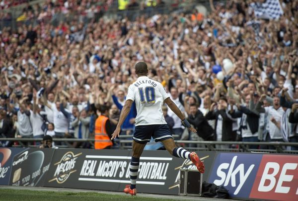 Preston North End Play-Off Final v Swindon Town, Sunday 24th May 2015: Play-Off Final Match Action