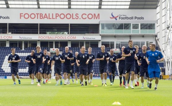 Preston North End Family & Community Events: Open Training Day, Thursday 25th July 2013