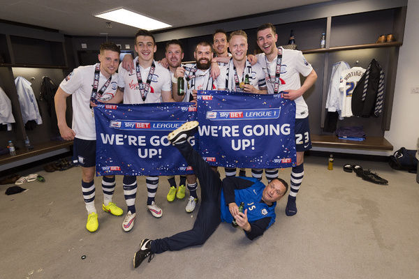Preston North End Play-Off Final Celebrations 24/05/15
