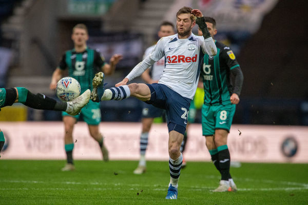 PNE v Swansea Action 059 - Tom Barkhuizen
