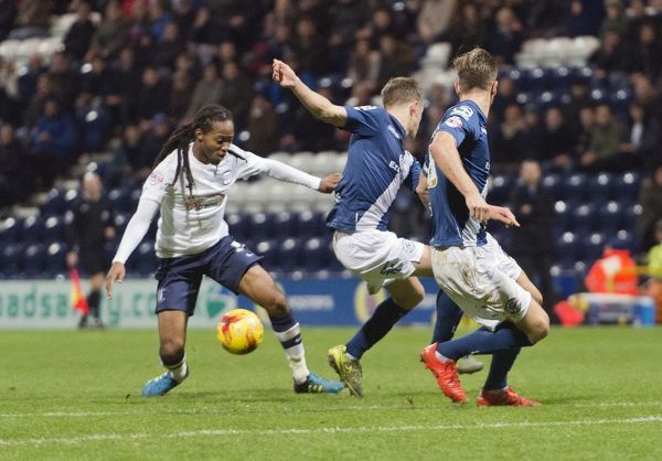 Preston North End 2015/16 Season: Preston North End v Birmingham City, Tuesday 15th December 2015, SkyBet Championship