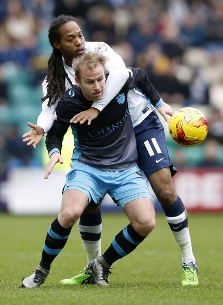 Football Soccer - Preston North End v Sheffield Wednesday - Sky Bet Football League Championship - Deepdale - 20/2/16   Preston's Daniel Johnson and Sheffield Wednesday's Barry Bannan   Mandatory Credit: Action Images / Carl Recine   Livepic