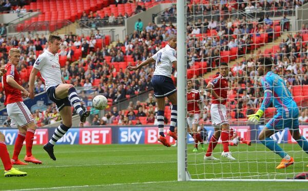 Picture by Gareth Williams/AHPIX.com. Football, Sky Bet League One Play-Off Final;   Preston North End v Swindon Town; 24/05/2015 KO 5
