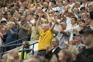 Applause From The Fans At Deepdale