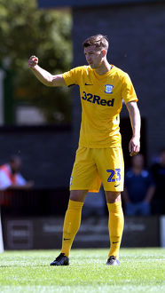 DK Flyde v PNE, Paul Huntington Yellow Kit (3)
