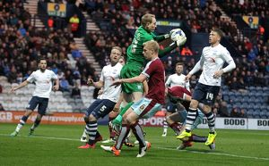 Football - The Football League Sky Bet Championship - Preston North End v Burnley