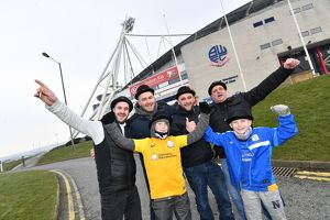 Gentry Day at the Bolton Wanderers v Preston North End SkyBet Championship match