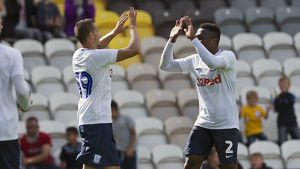 PNE v West Ham United Billy Bodin and Darnell Fisher Hoem Kit