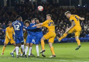 Peterborough United v PNE, Saturday 9th January 2016, FA Cup Third Round