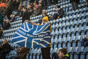 PNE Fan, Roop Shows His Pride In The Lilywhites