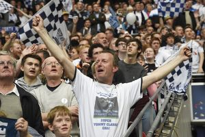 PNE Fans Celebrate at Wembley For Play-Off Final 2015