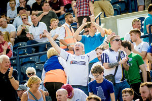 PNE Fans Cheers For North End