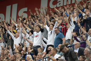 PNE Fans Make Some Noise Against Bolton Wanderers