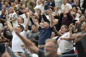 PNE Fans Stand Up With Joy