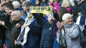PNE Holds Scarf With Pride