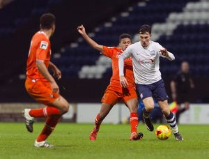 PNE v Luton Town, Wednesday 10th February 2016, FA Youth Cup