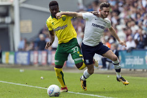 PNE v Norwich Alan Browne (2)