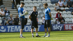 PNE v Norwich Matt Jackson, Matt Hudson and Chris Maxwell