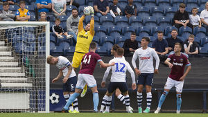 PNE v West Ham United Chris Maxwell, Yellow Kit (4)