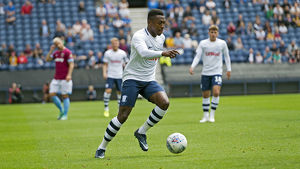 PNE v West Ham United Darnell Fisher Home Kit (1)