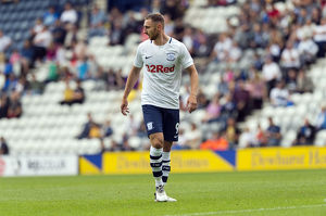 PNE v West Ham United Louis Moult Home Kit (7)