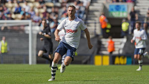 PNE v West Ham United Louis Moult Home Kit (8)