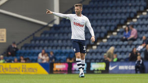 PNE v West Ham United Paul Gallagher Home Kit (2)