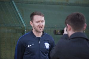 Preston North End Soccer School Aidan McGeady