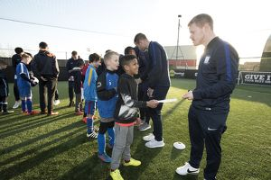 Preston North End Soccer School Daryl Horgan