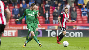 Sheffield United v PNE Alan Browne (13)