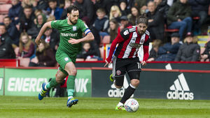 Sheffield United v PNE Greg Cunningham (1)