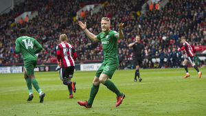 Sheffield United v PNE Tom Clarke (2)