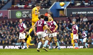 Sky Bet Championship. Aston Villa V Preston North End