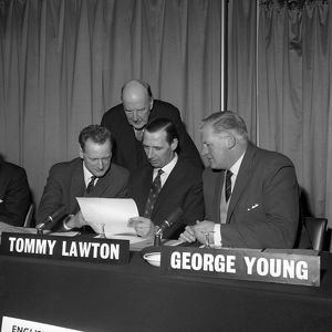 Soccer - Football Pools Selection Panel - London - 1963