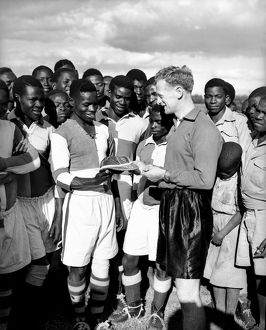 Soccer - Tom Finney Tours Northern Rhodesia