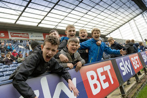 Young PNE Fans Ready To Make Some Noise